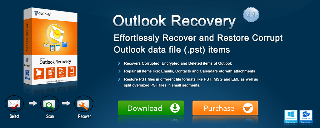 PST Email Recovery Banner